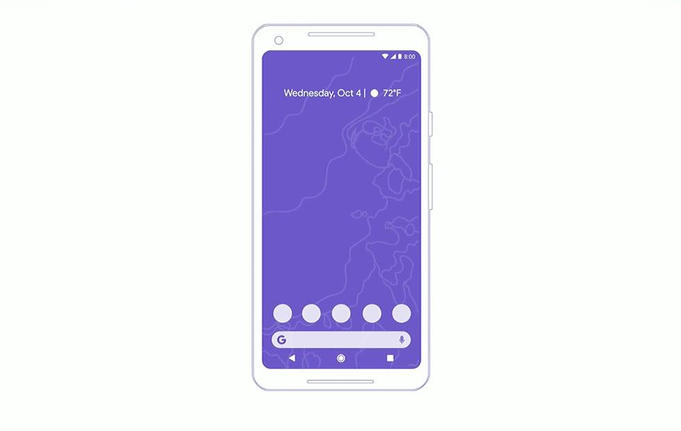 Android P feature: New UI and Gestures