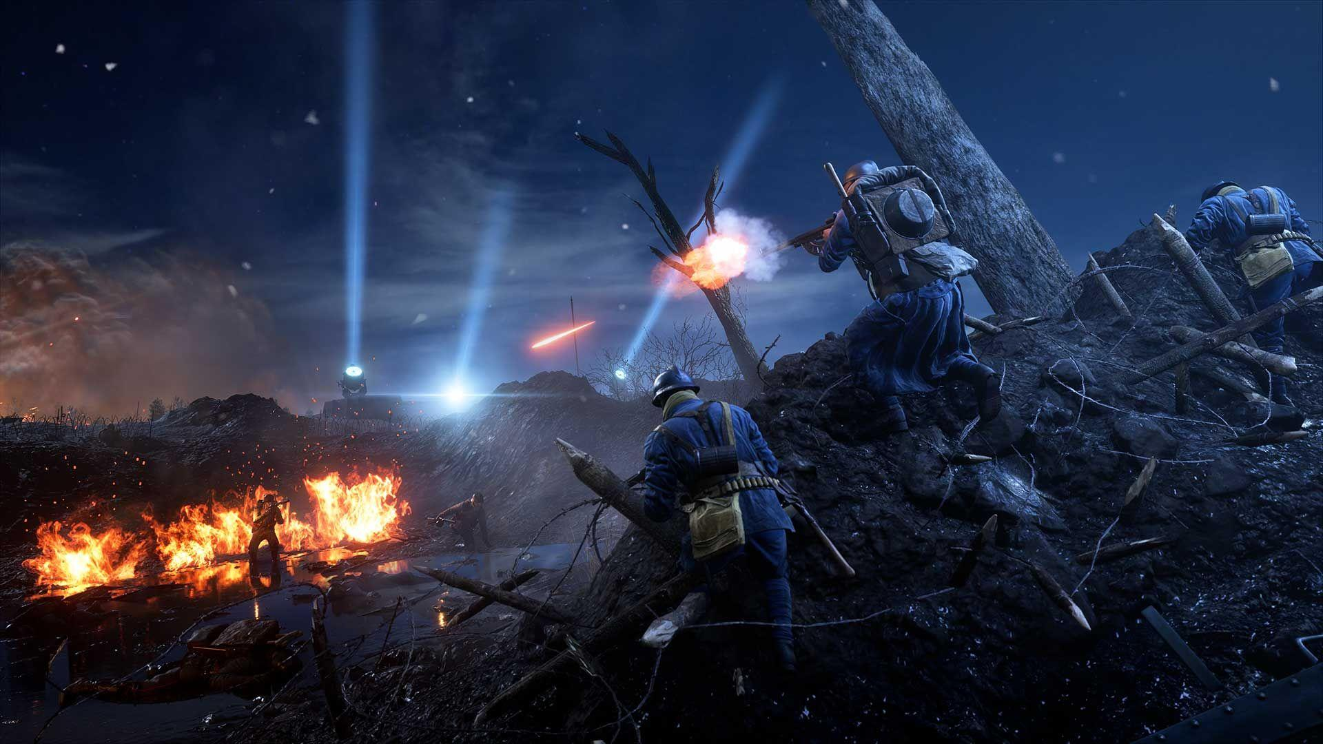 Battlefield 1 Dlc They Shall Not Pass Goes Free For A Short Time