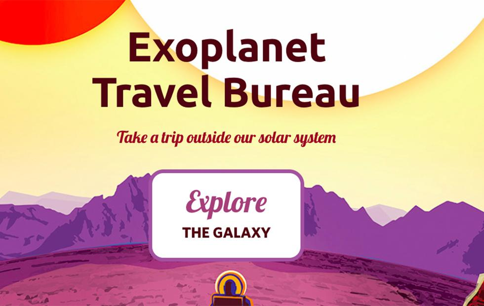 NASA virtual exoplanet tours bureau lets anyone 'vacation' in space