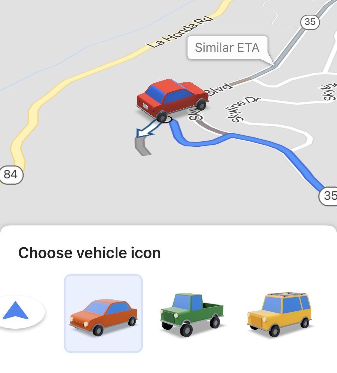 Google Maps just gave iPhone users a fun UI treat - SlashGear on google street view shots, web shots, instagram shots, google satellite shots,