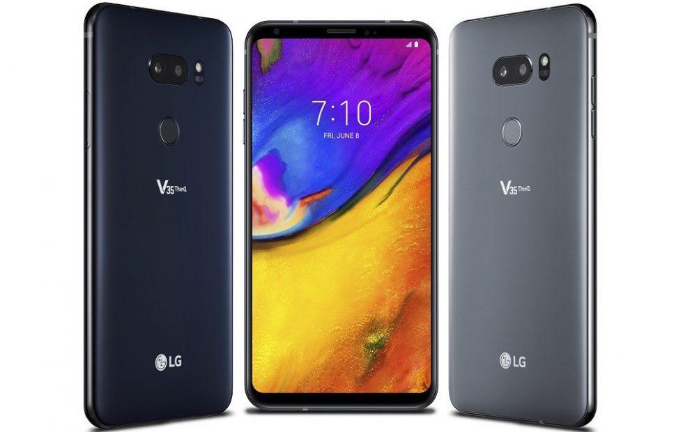 LG V35 ThinQ borrows G7 tech but dumps the notch