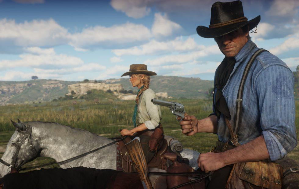 Take a look at Red Dead Redemption 2's box art