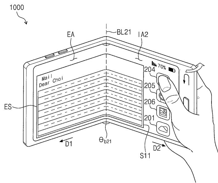 Samsung Folding Transparent Smartphone Patents Reveal Major Details