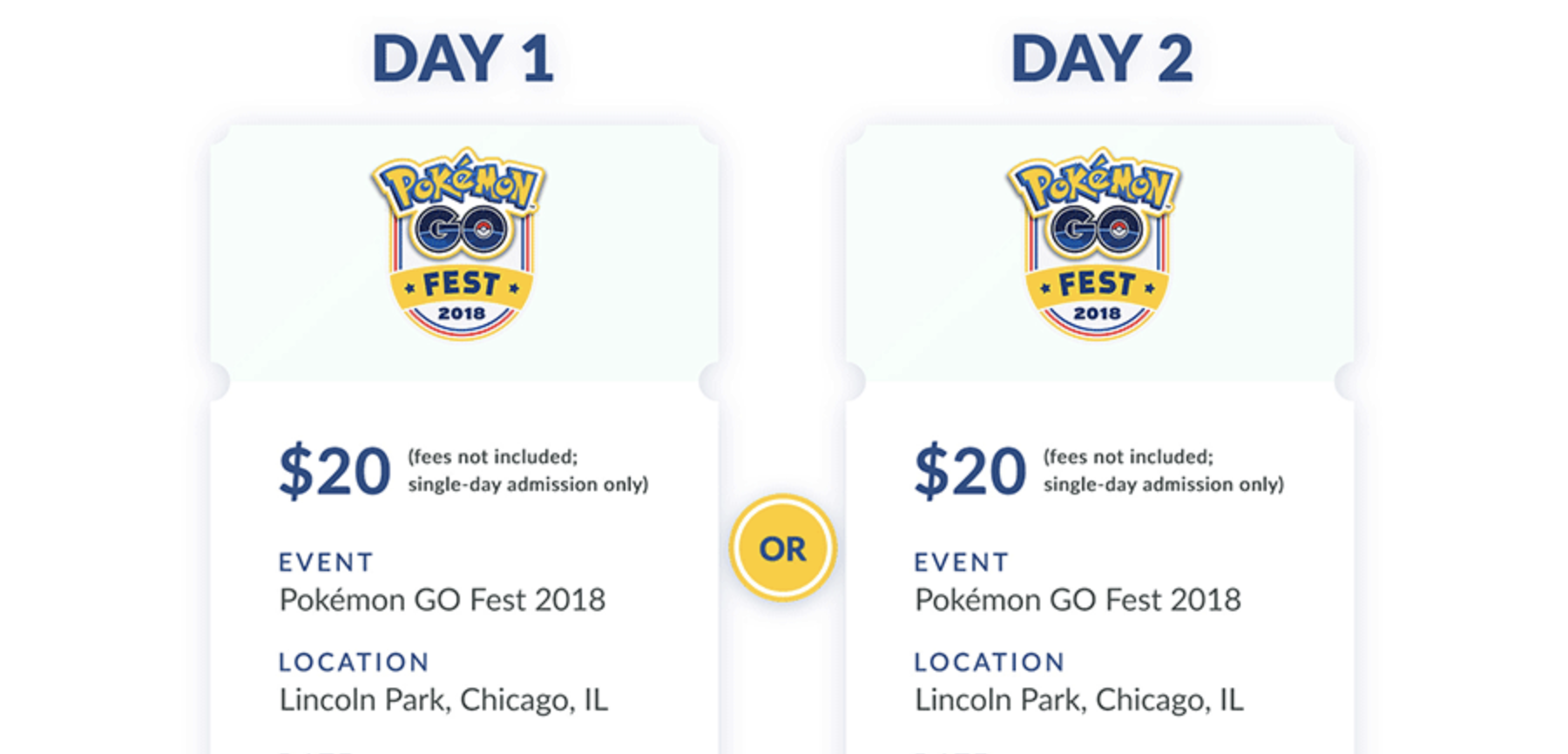 Pokemon Go Fest 2019 Location