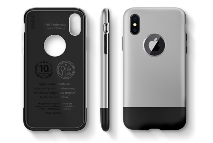 pretty nice 03a64 3f9a2 Spigen's new iPhone X cases have classic iMac G3 and iPhone designs ...