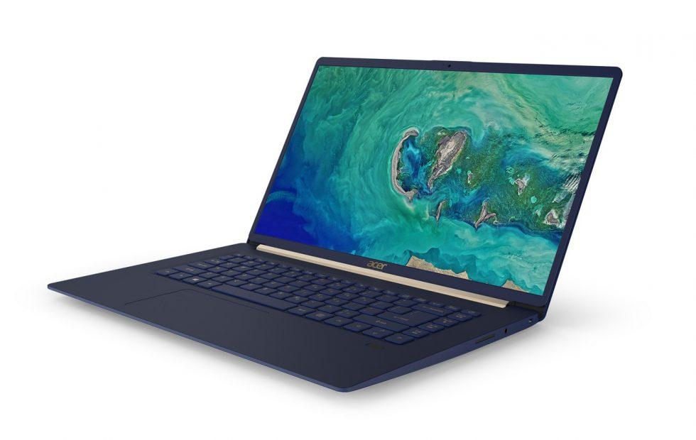 Acer Swift 5 slims down, gets bigger display for 2018