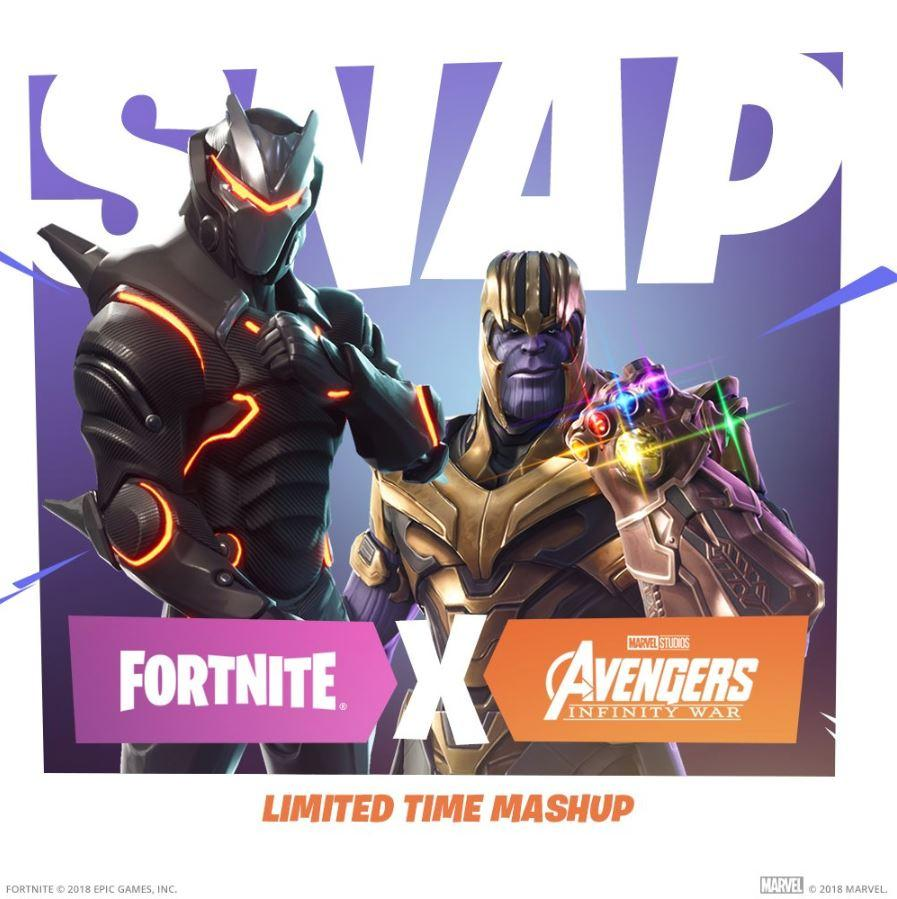 Thanos is coming to Fortnite in new Avengers: Infinity War