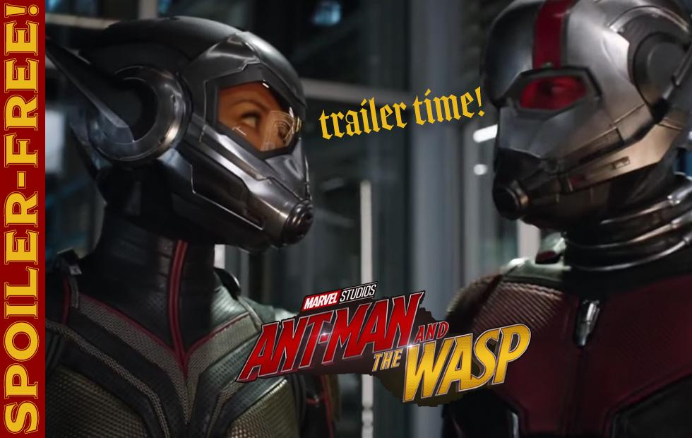 Ant-Man and Wasp Trailer: Let's get TINY