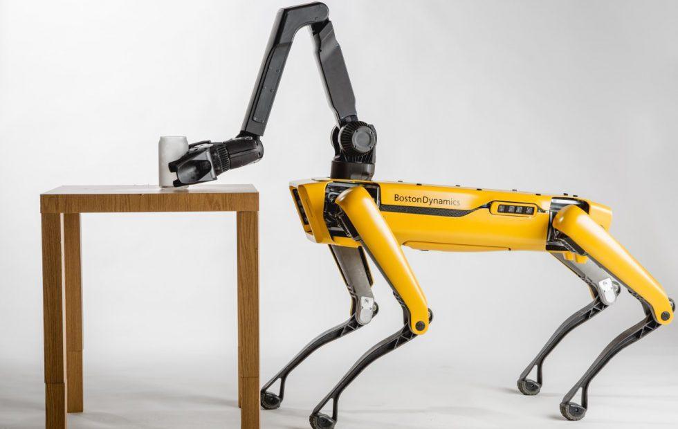 Boston Dynamics' SpotMini robot dog sales start in 2019