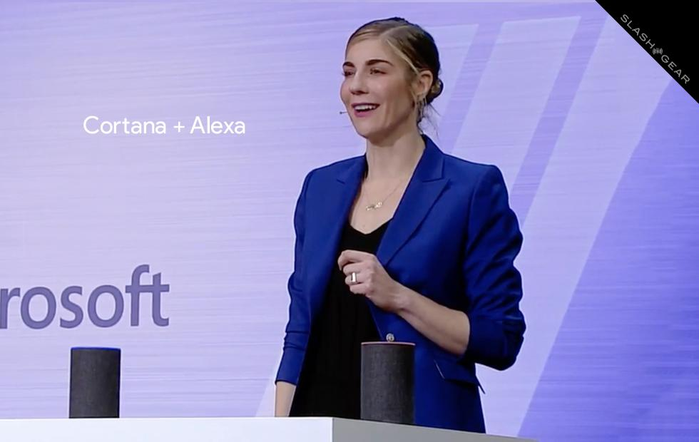 Alexa x Cortana demo video: Microsoft and Amazon, BFF