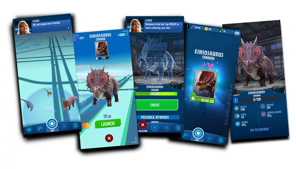 Jurassic World Alive APK download live (Pokemon GO for