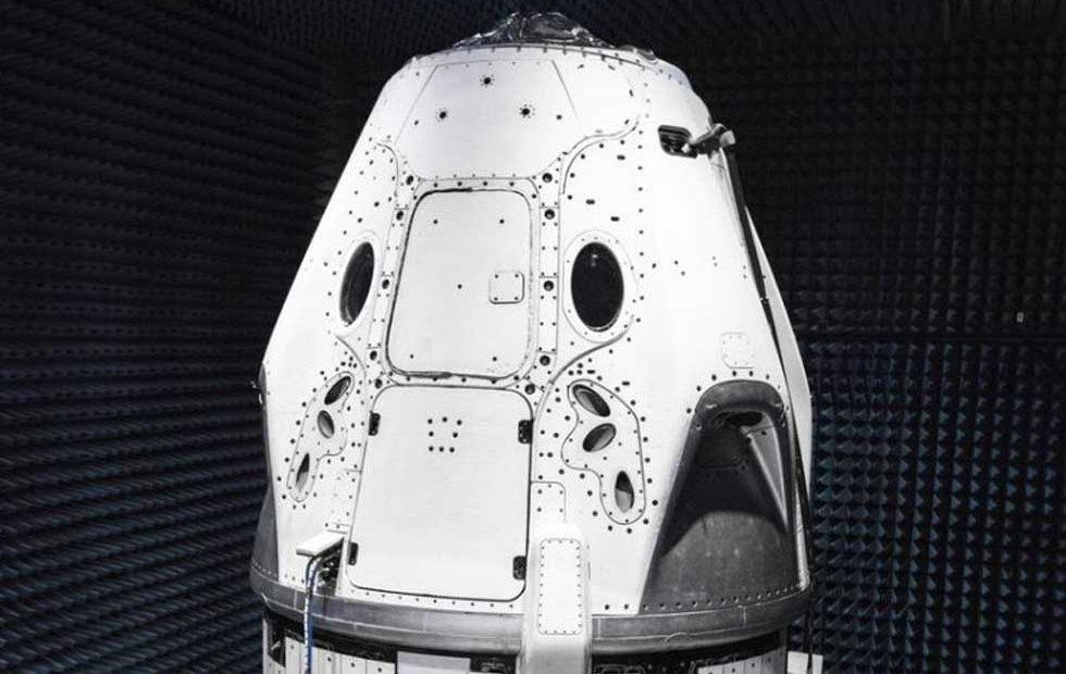 Elon Musk shares SpaceX Crew Dragon capsule test images