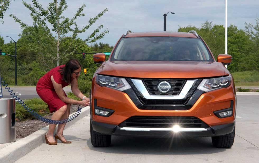 Nissan Easy-Fill Tire Alert system aims to save money on summer trips