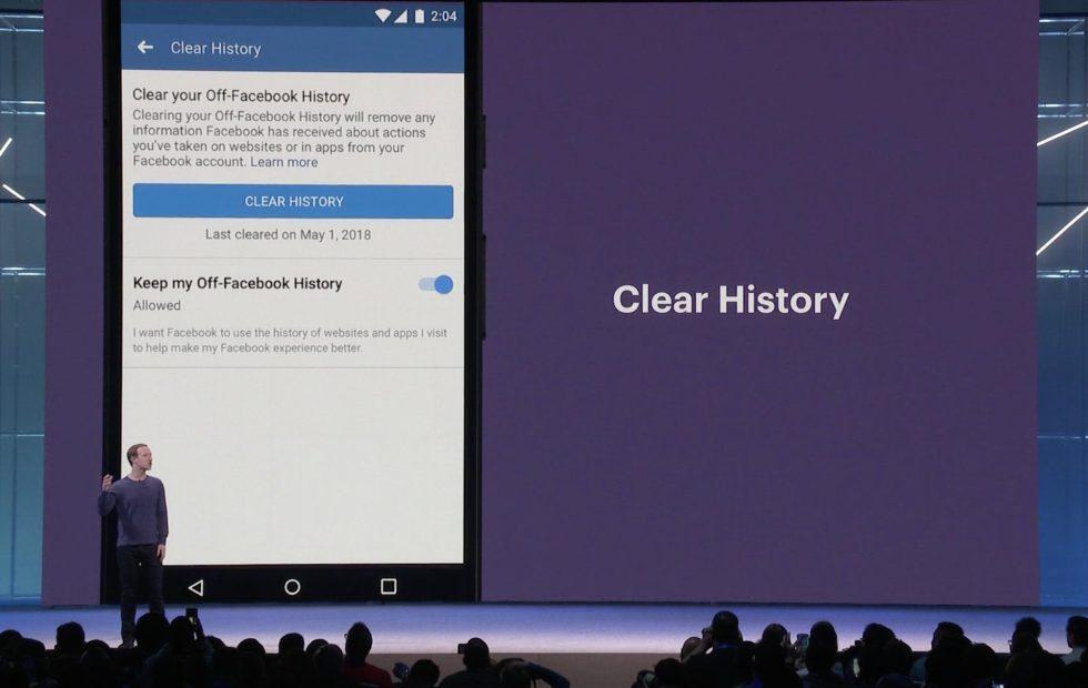 Facebook's Clear History promises to flush your digital footprints
