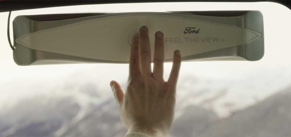 Ford's Feel the View tech lets the visually impaired feel the sights