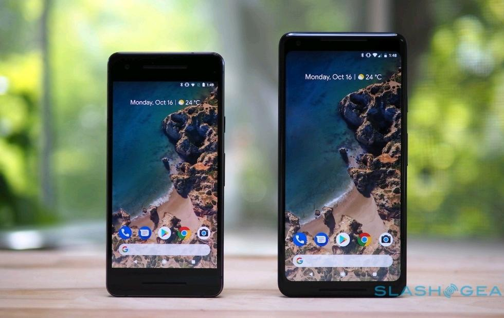 Android P on Pixel 2 might have automatic color adjustment