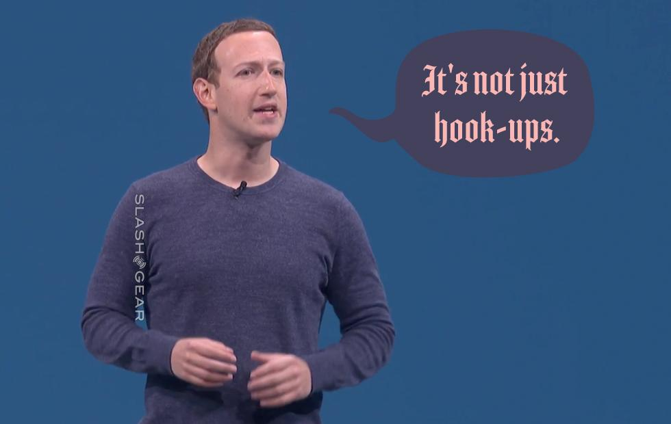 "Facebook Dating is ""not just hook-ups"" says Zuckerberg"