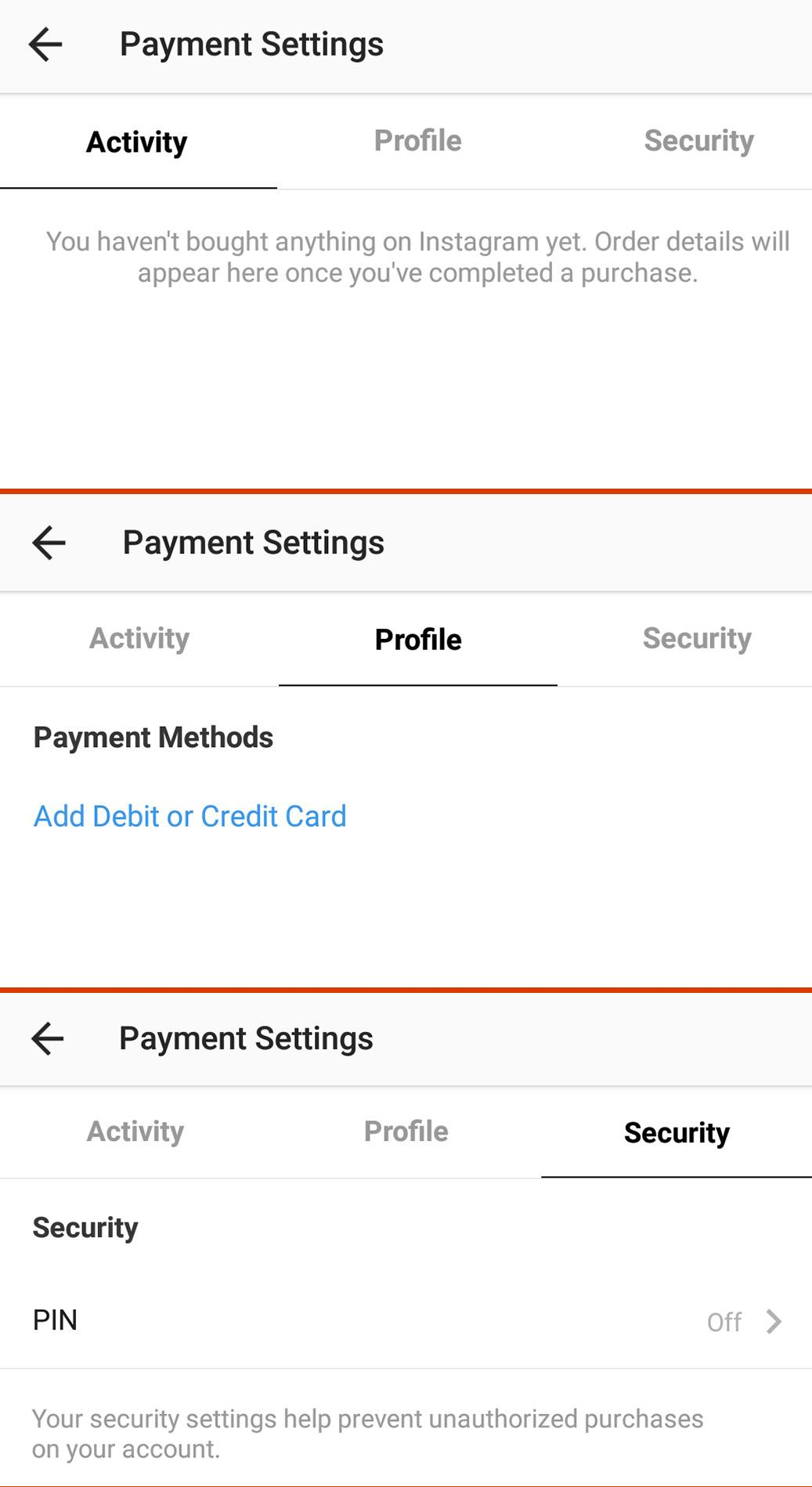 Access Instr instagram payment feature quietly appears for some users