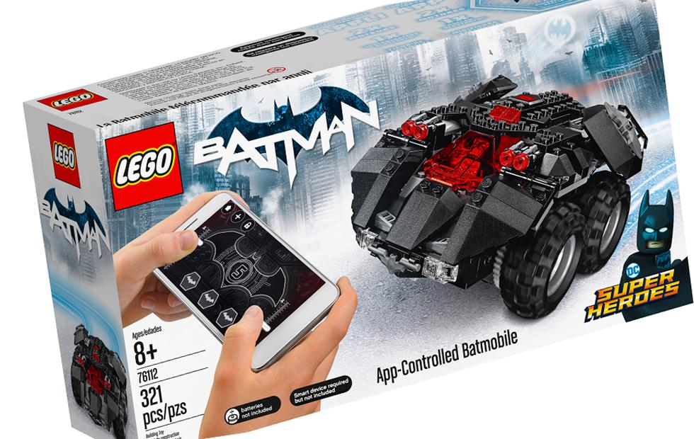 Remote control Batmobile LEGO set: Powered Up Platform set number 1