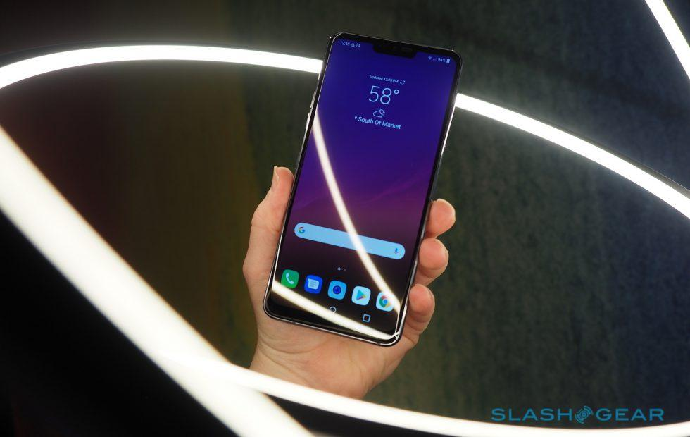 LG G7 ThinQ hands-on: AI camera, Boombox and a notch