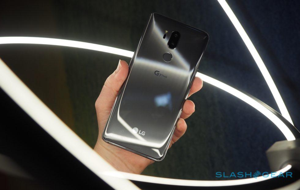 The LG G7 ThinQ has a problem