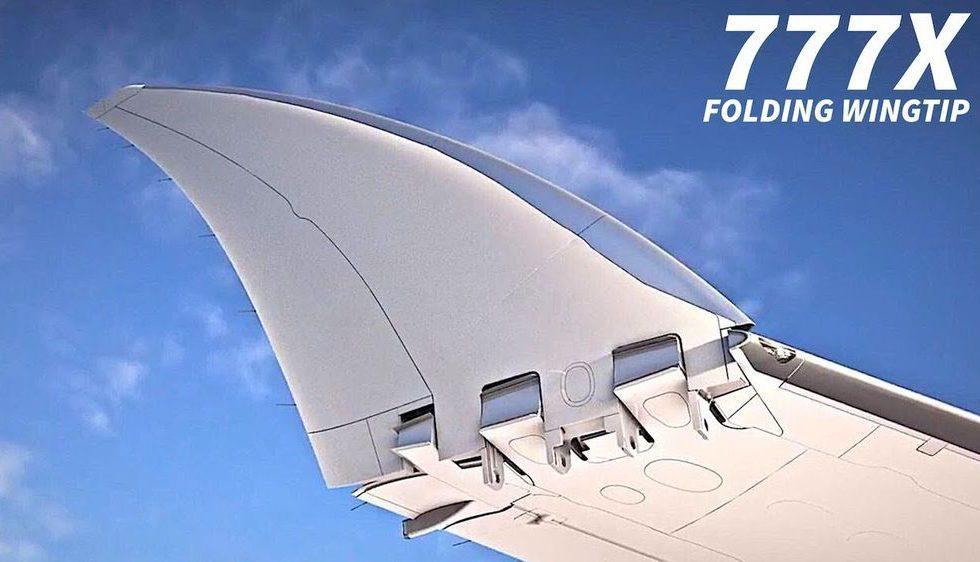 Boeing 777X jetliner folding wing design gets FAA approval