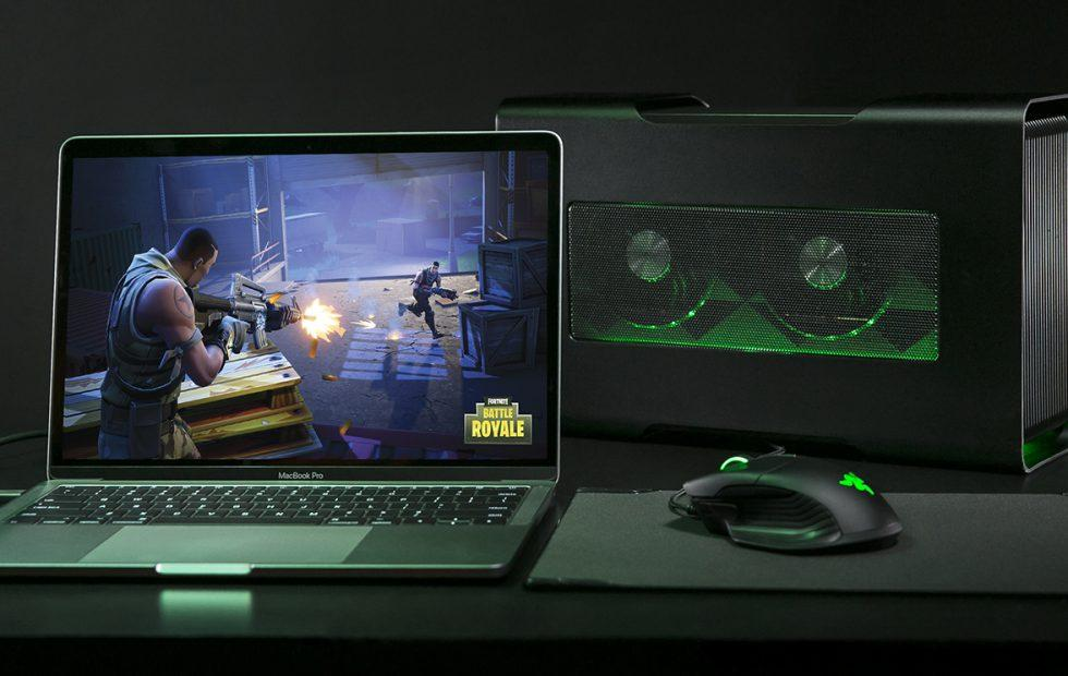 Razer Core X makes MacBook Pro a beast