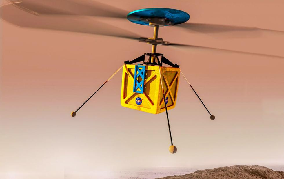 This is NASA's Mars Helicopter: It's a GO!