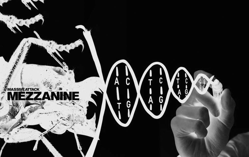 Massive Attack album stored in DNA