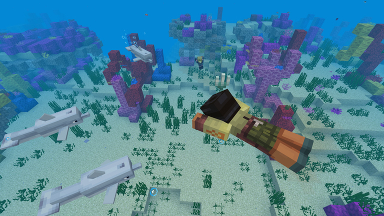 Minecraft Aquatic update Phase One arrives with a ton of new items
