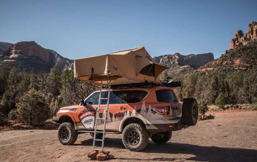 Nissan Armada Mountain Patrol is an overlanding family adventure machine