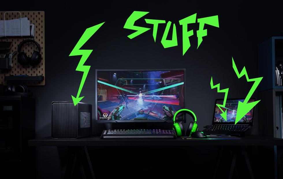 Everything Razer announced today: Razer Core X, Blade 2018
