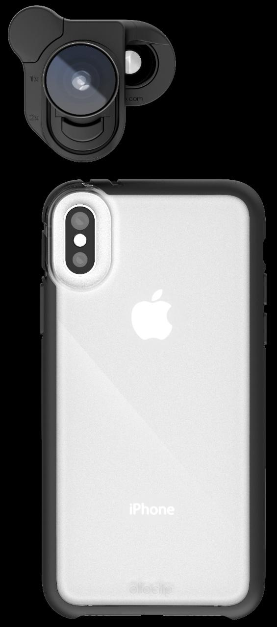 best service 8df29 eb5ac olloclip system for iPhone X ushers in a new look for mobile ...