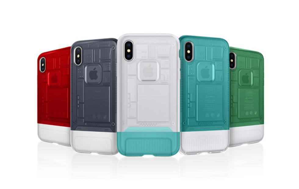 Spigen's new iPhone X cases have classic iMac G3 and iPhone designs
