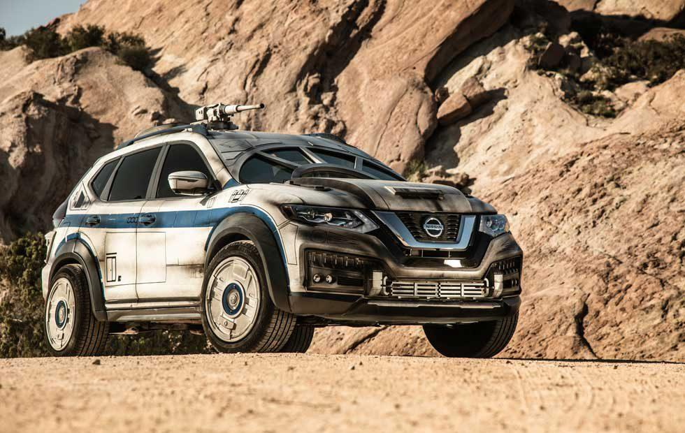 Millennium Falcon-inspired Nissan Rogue Has it where it counts kid
