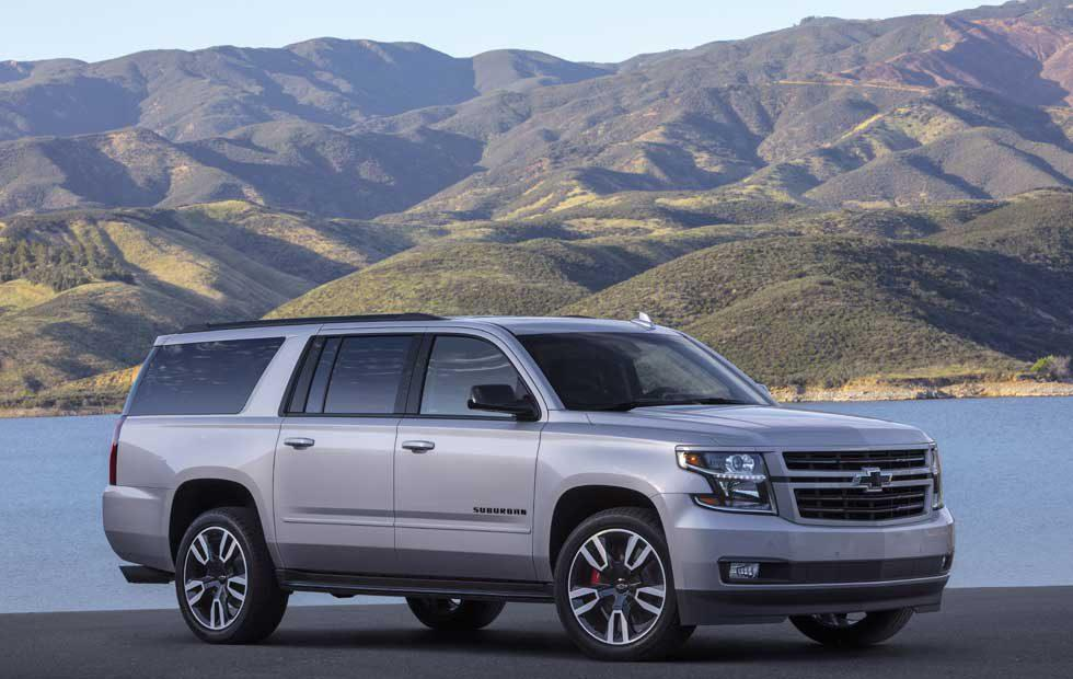 2019 Chevy Suburban RST Performance Package features 420hp 6.2L V8