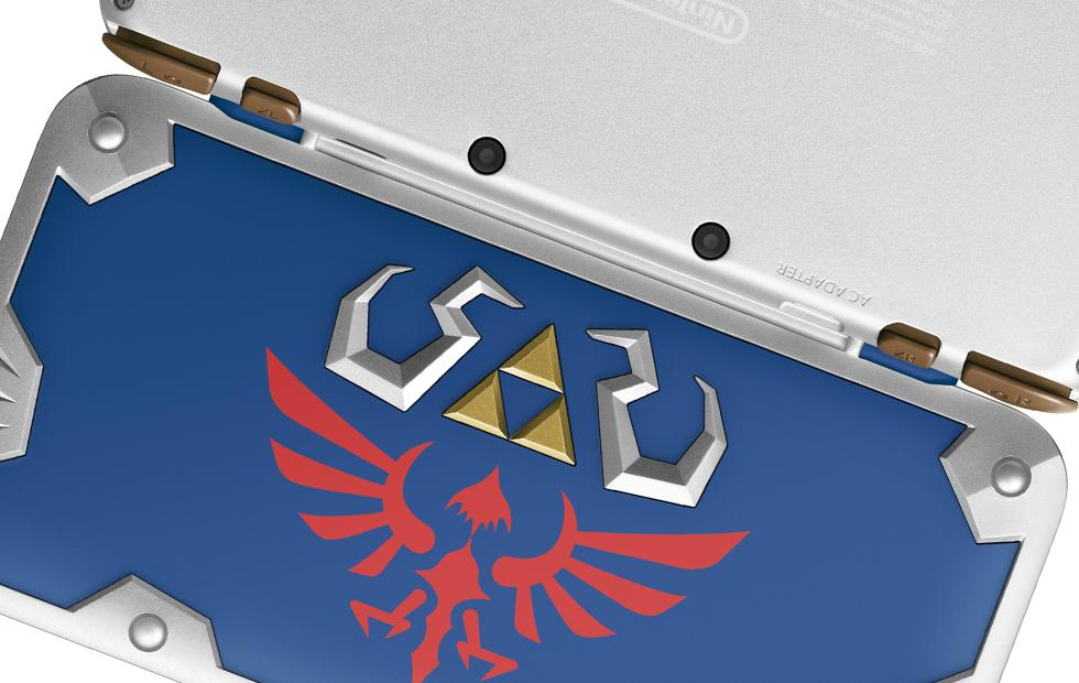Zelda's own: New Nintendo 2DS XL Hylian Shield Edition