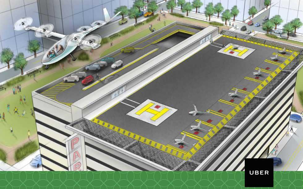 Uber Elevate aims for the future of urban air transportation