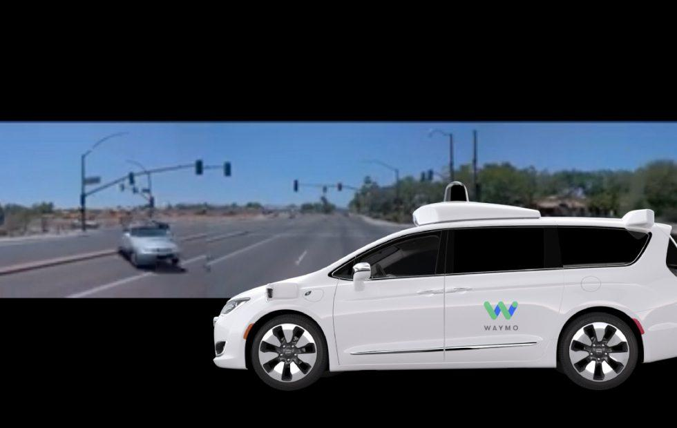 Waymo driverless car crash video released after Arizona collision