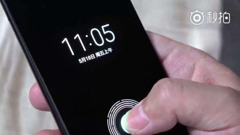 Xiaomi Mi 8 tipped to feature fingerprint sensor under the display