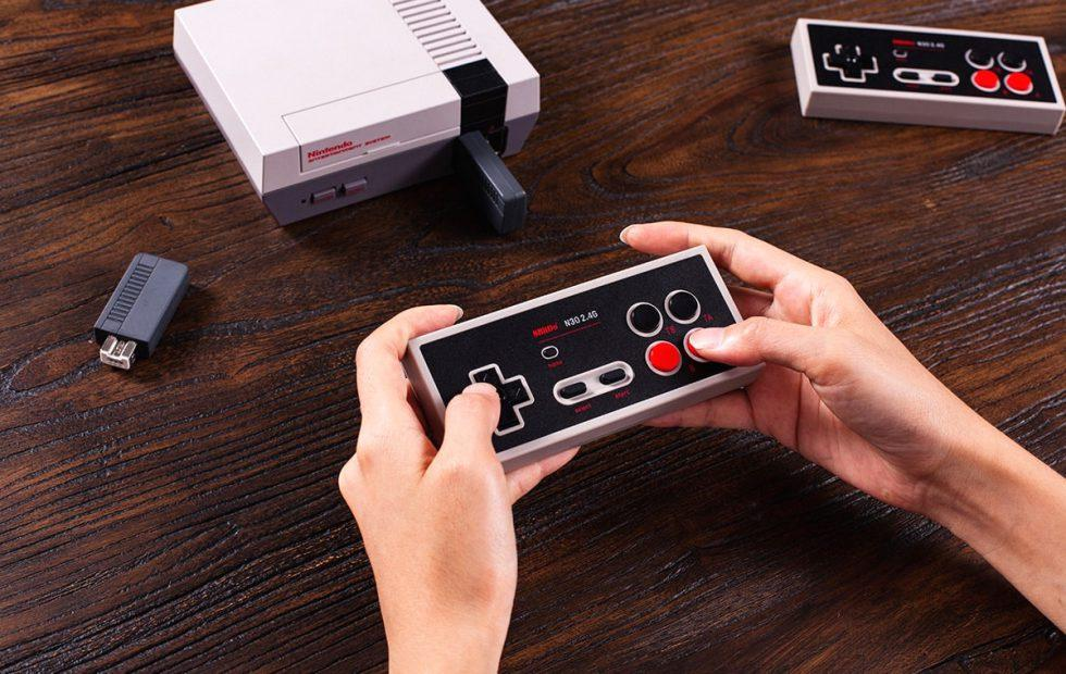 8BitDo NES Classic wireless controller is perfect for the mini console's relaunch
