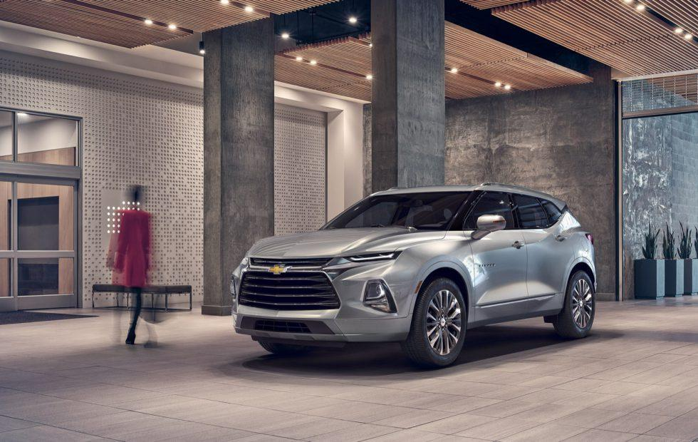 2019 Chevrolet Blazer revealed as bold tech-savvy crossover