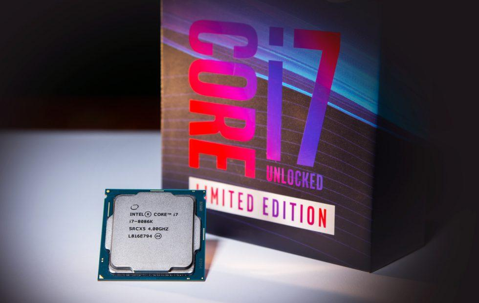 Intel's Core i7-8086K limited edition CPU is up for sale