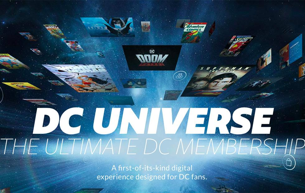 DC Universe streaming service beta revealed ahead of fall launch
