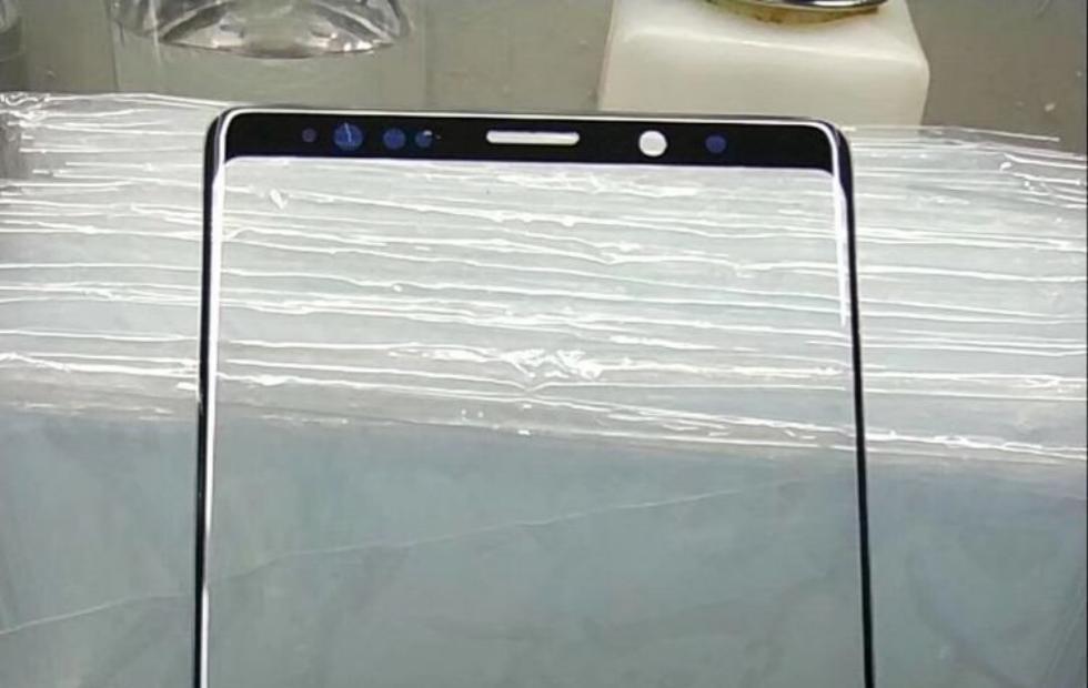 Galaxy Note 9 screen panel leak: still notchless