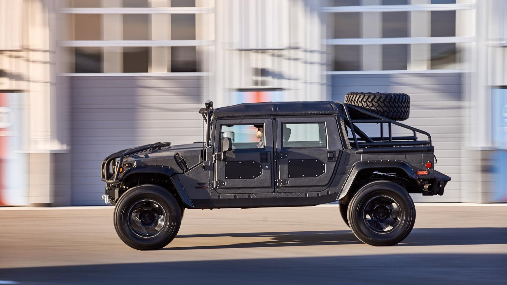 Hummer H13 reborn: MSA gives iconic SUV a luxury upgrade ... | hummer upgrades