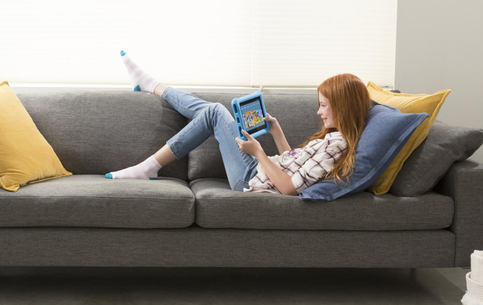 Amazon Fire HD 10 Kids Edition is made for bigger kids