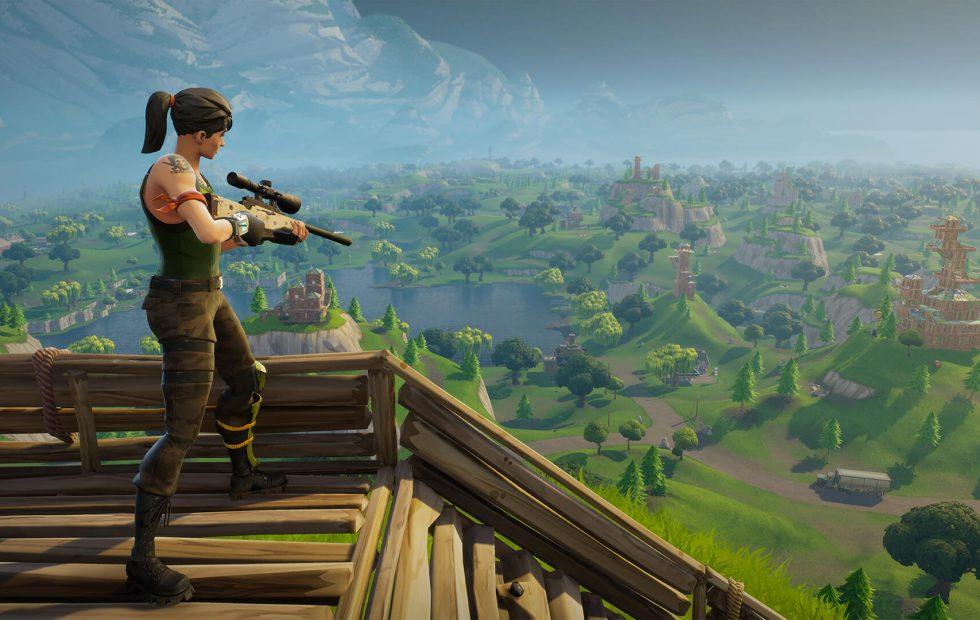 Fortnite for Switch outed again, this time by the eShop