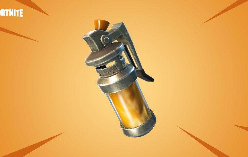 Fortnite's latest update serves up a new grenade and big