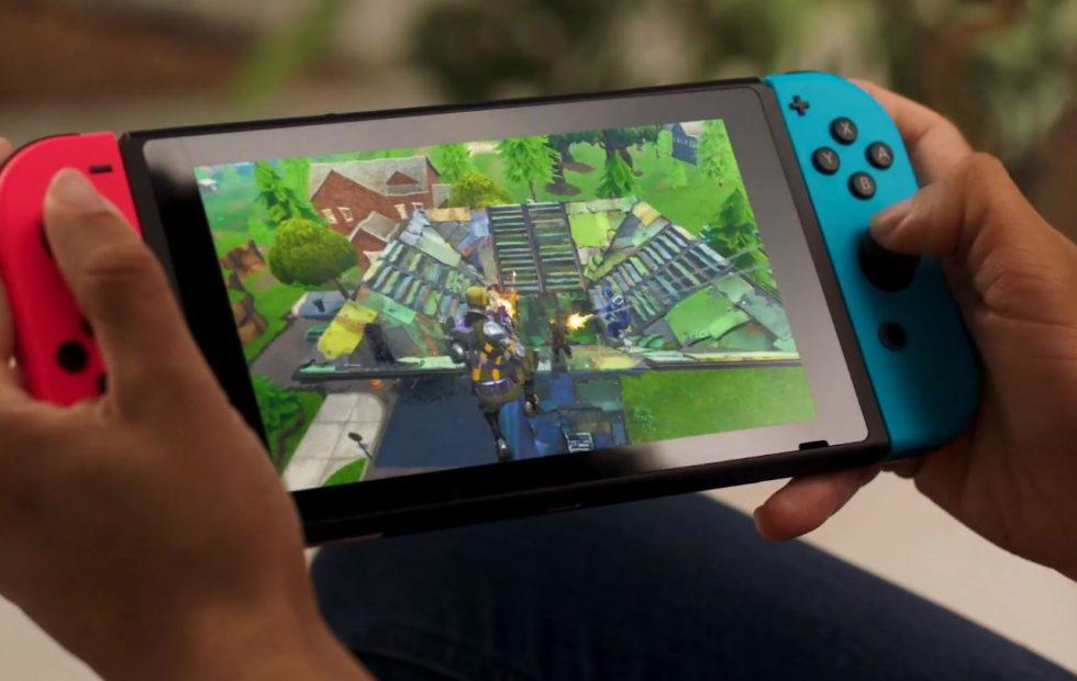 Fortnite releases on Nintendo Switch today
